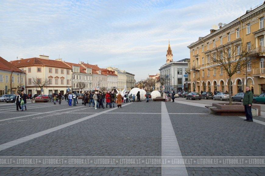Рождественский городок на Ратушной площади