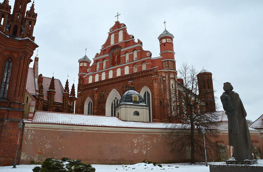 Костёл Святого Франциска Ассизского, Вильнюс