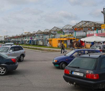 Gariūnai, вещевой рынок