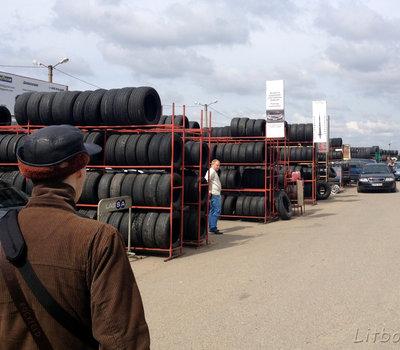 Gariūnai, автомобильный рынок