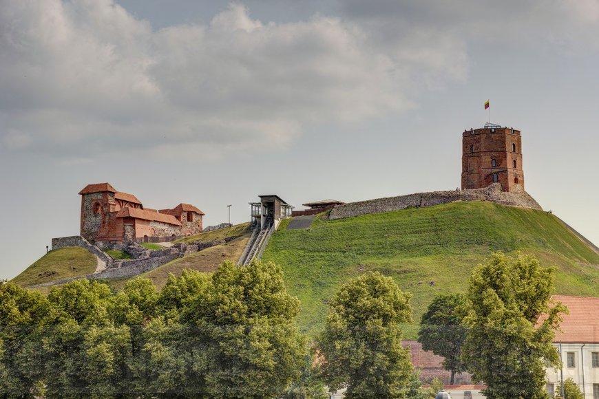 Замковая гора (Gedimino pilies bokštas), Вильнюс