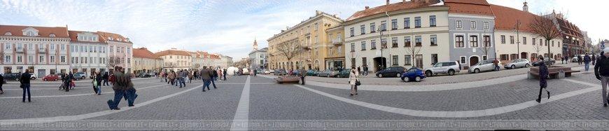 Панорама Ратушной площади. Кликните, чтобы увидеть полный размер.