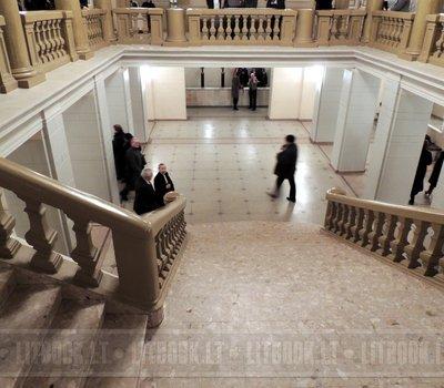 Фойе и лестница, Национальная филармония Литвы