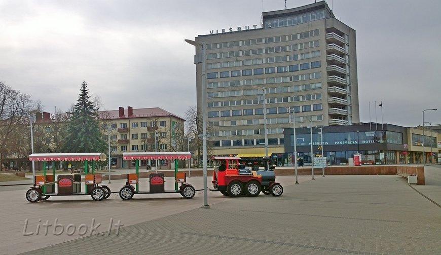 Паневежис центральная площадб