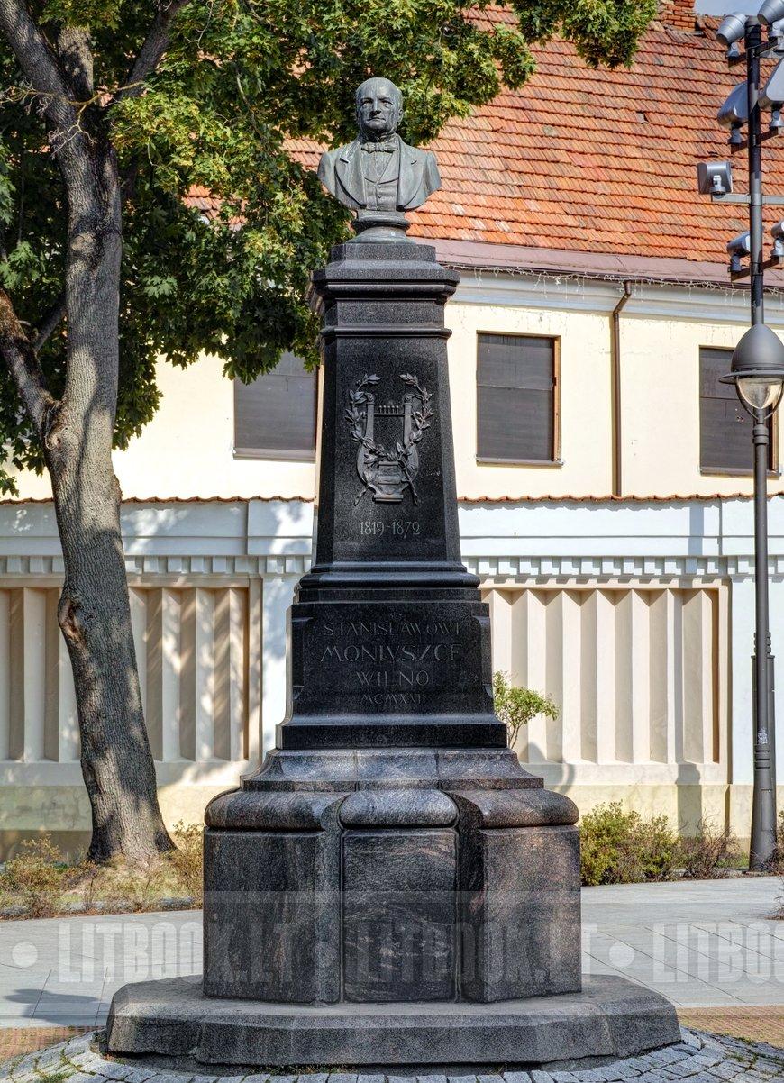 Памятник Станиславу Монюшко, Вильнюс